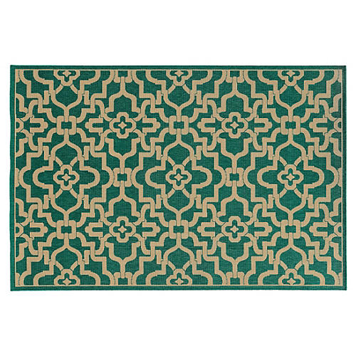 Braden Outdoor Rug, Green