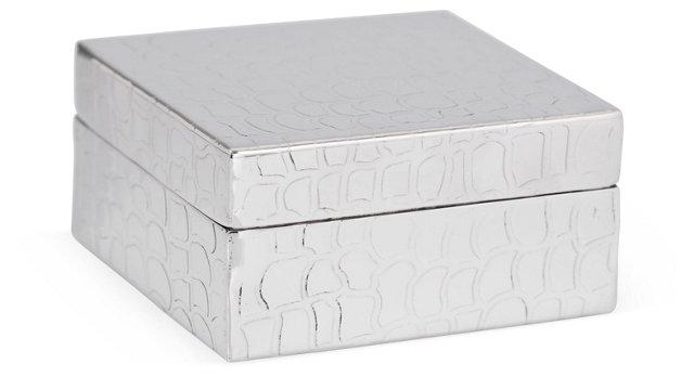 4x4 Crocodile Print Box