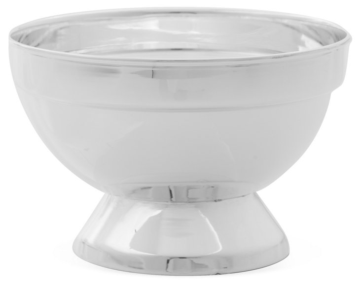 Small Footed Bowl, Silver