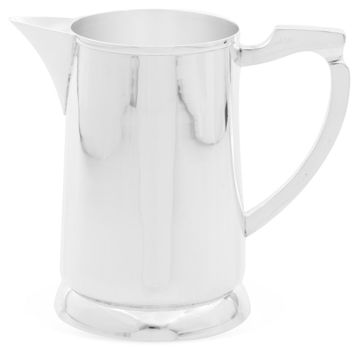 Silver Elegant Pitcher