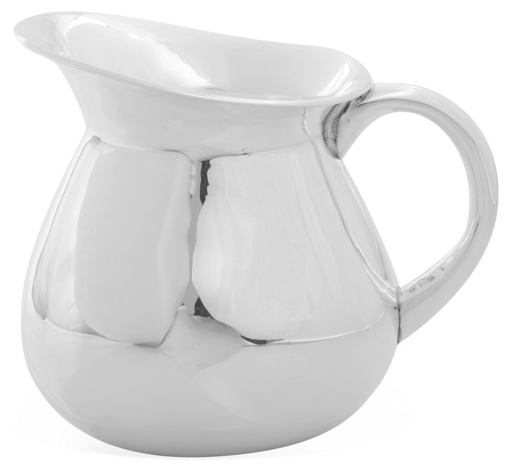 Silver Classic Pitcher, Small
