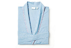 Stripe Robe, Blue S/M