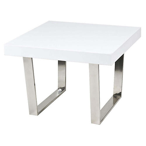 Sien Side Table, White