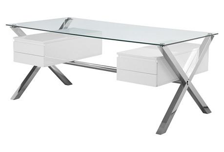 Large Beverly Desk, White*