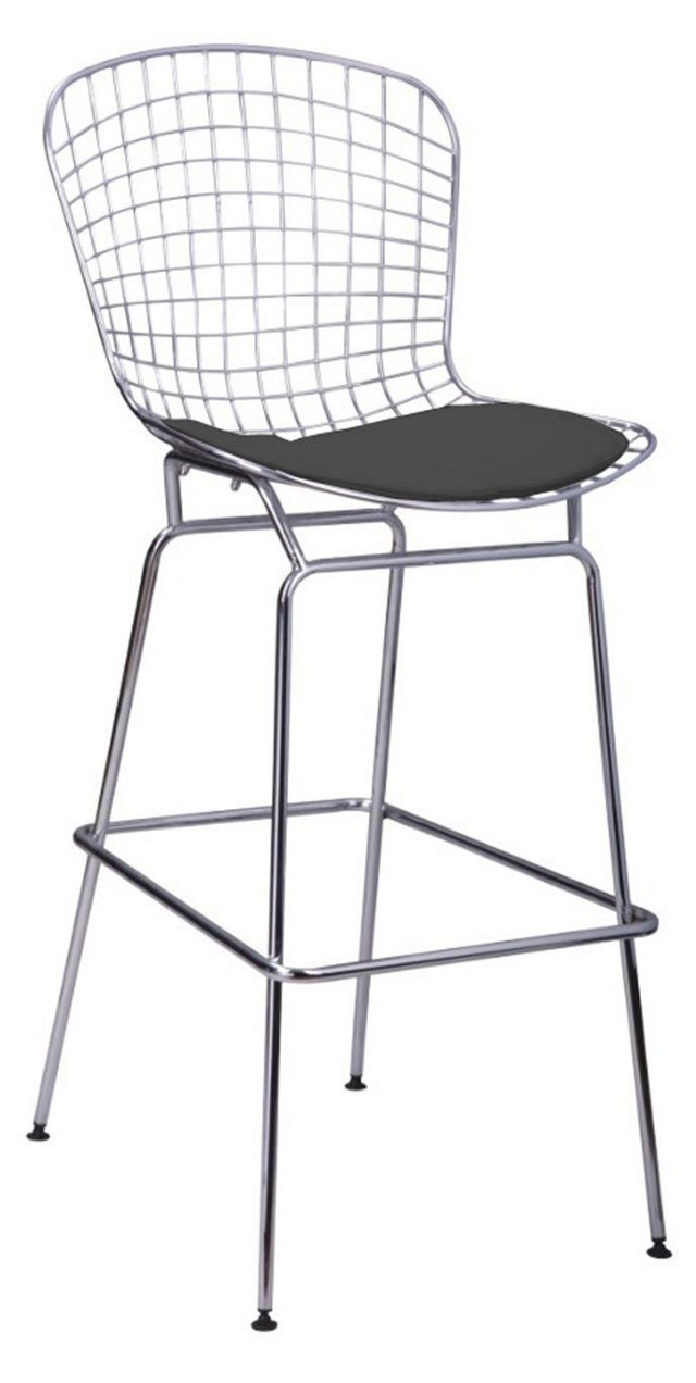 Shuttle Mesh Counter Stool w/ 2 Cushions