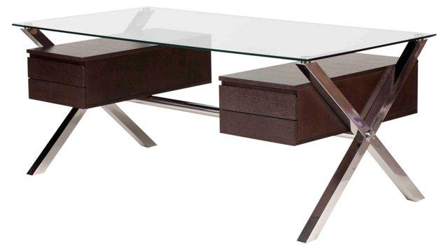 Large Beverly Desk, Espresso