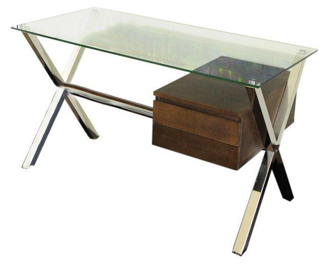 Small Beverly Desk, Espresso