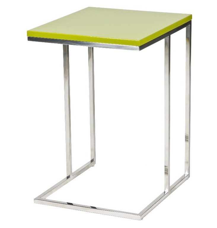 Wilson Side Table, Lime Green