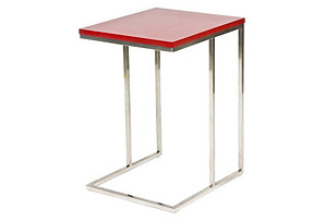 Wilson Side Table, Red