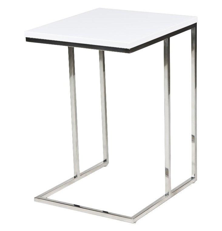 Wilson Side Table, White