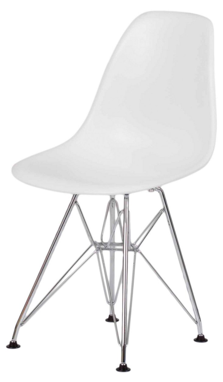Donald Kid's Chair, White