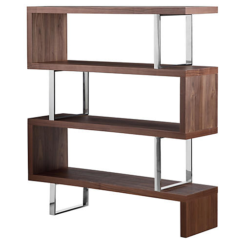 Santoni Bookshelf, Walnut