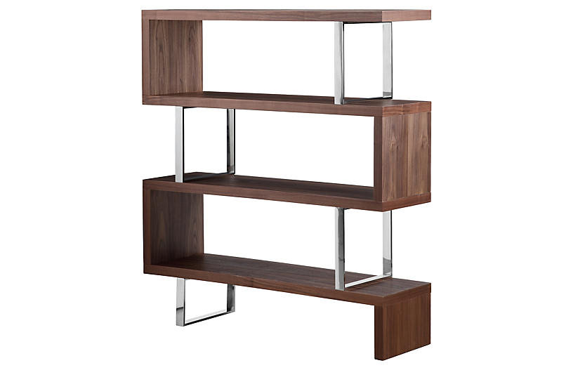 Santoni Bookshelf - Walnut