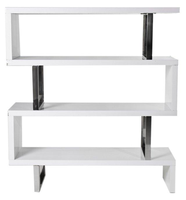 Santoni Bookshelf, White