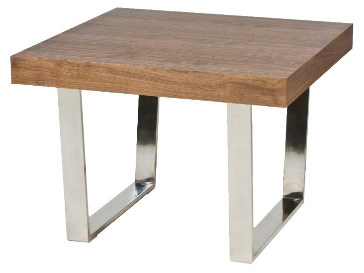 Sien Side Table, Walnut