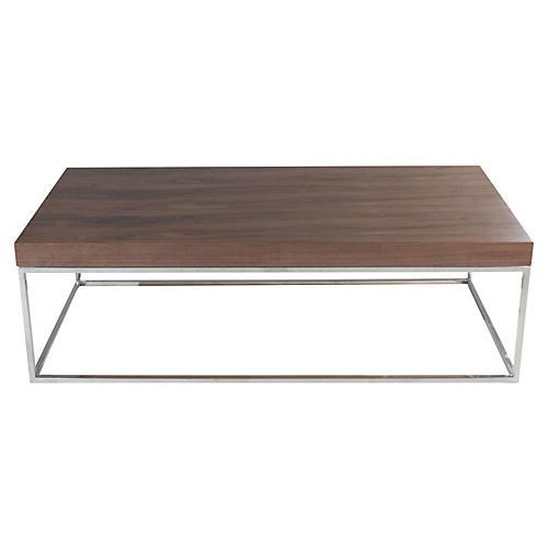 Fred Coffee Table, Walnut