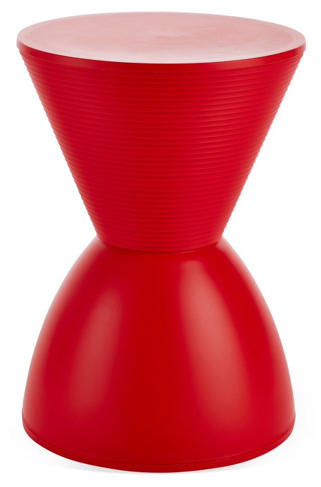 Bongo Kids Side Table, Red
