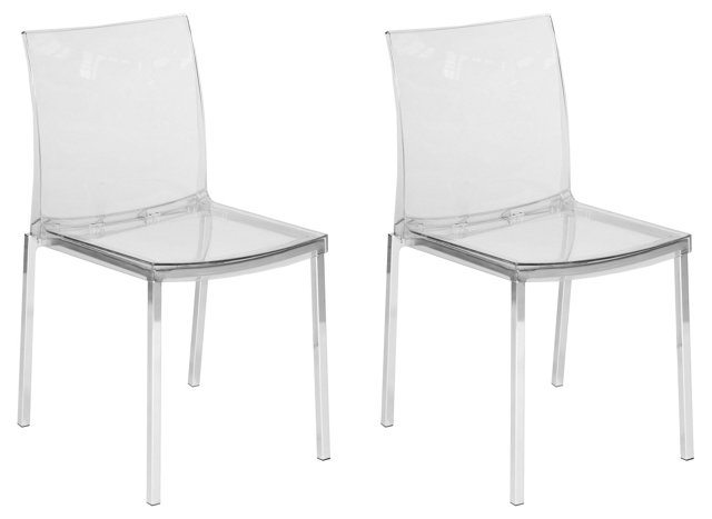 Elroy Dining Chairs, Pair