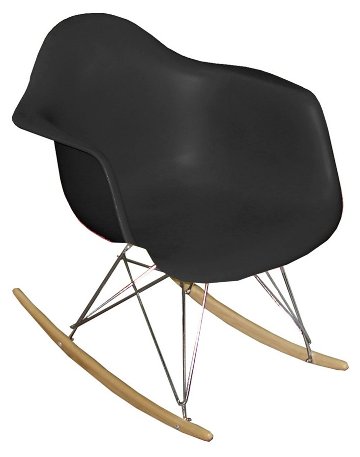 *IK Stockholm Rocking Chair, Black