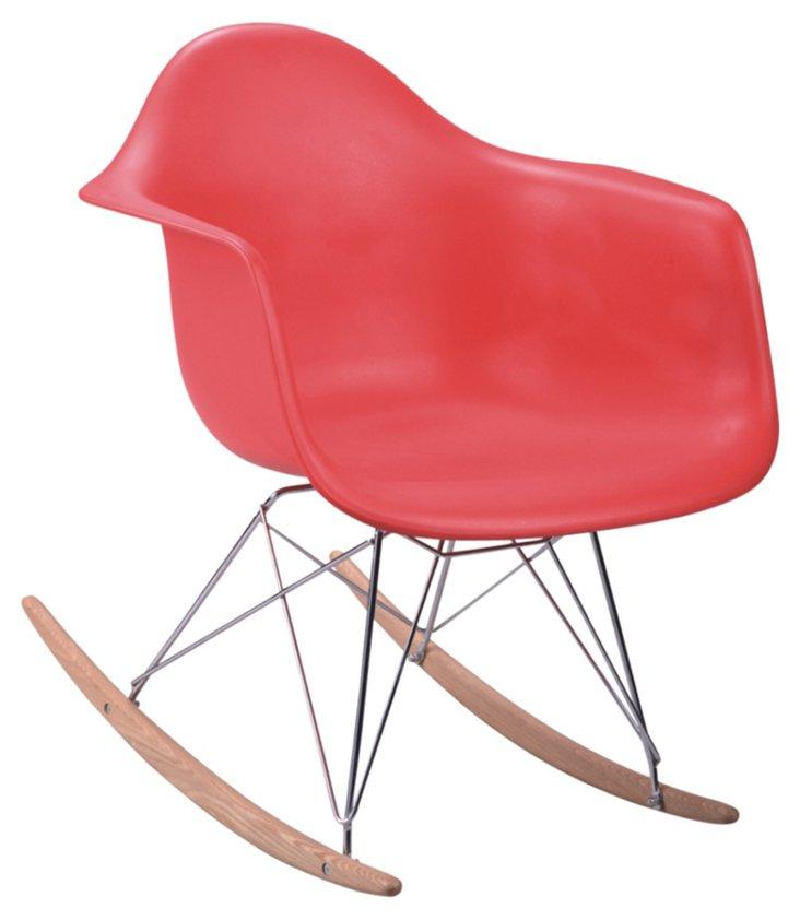 DNU, IK-Stockholm Rocking Chair, Red