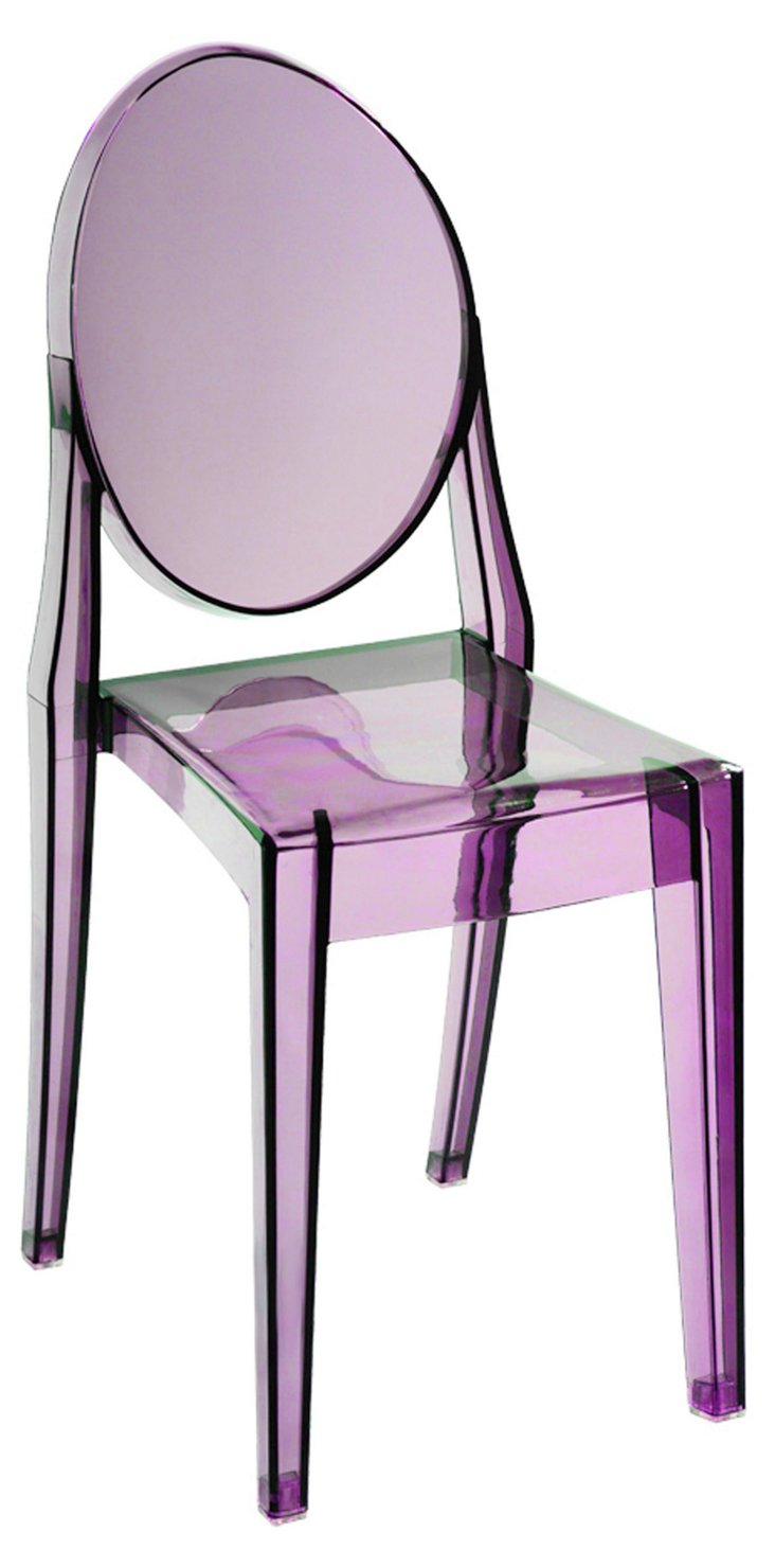 *IK Bilbao Dining Chair, Purple