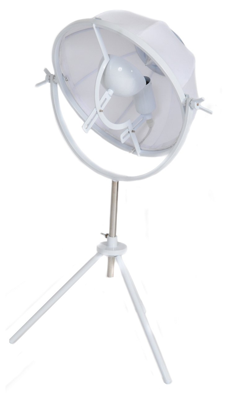 Mary Table Lamp, White