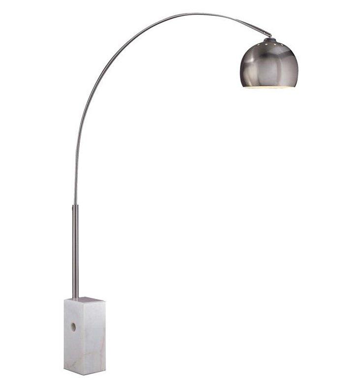Sara Floor Lamp, White