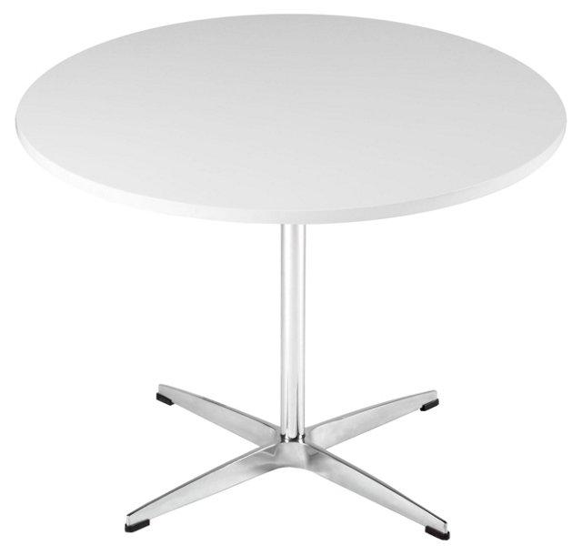 Hudson Side Table, White