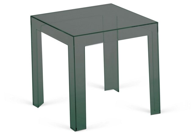"Elroy 15.5"" Side Table, Smoke"