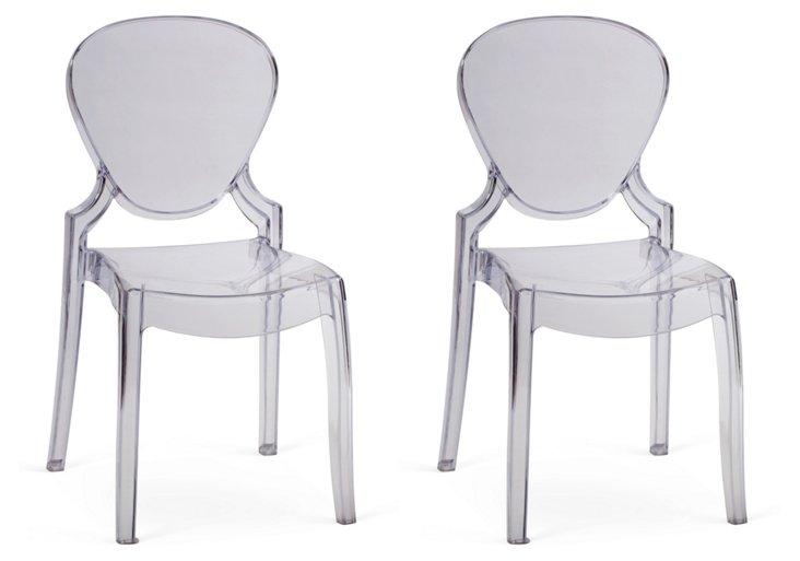Clear Dining Chair, Set of 4