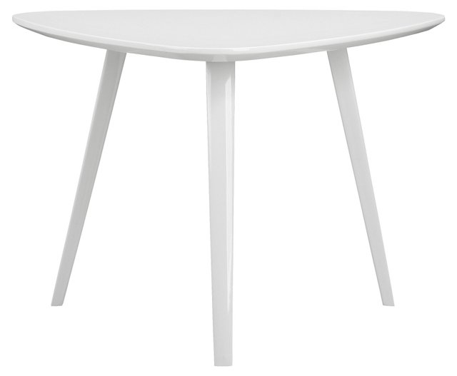 Hal Small Side Table, White