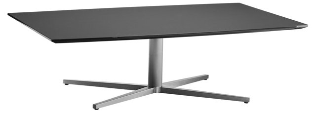 """Chaz 55"""" Dining Table, Gray"""
