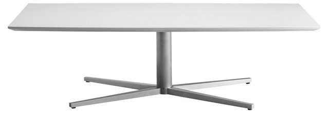 Chaz Coffee Table, White
