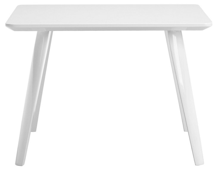 Hal Side Table, White