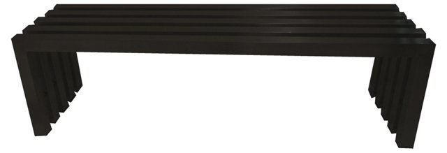 "Vlad 39"" Bench, Black"