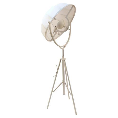 Mary Floor Lamp, White