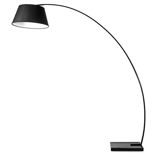 Rachel Floor Lamp, Black