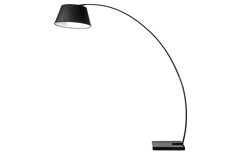 Rachel Floor Lamp, Black