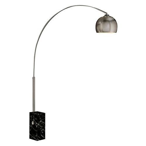 Sara Floor Lamp, Black