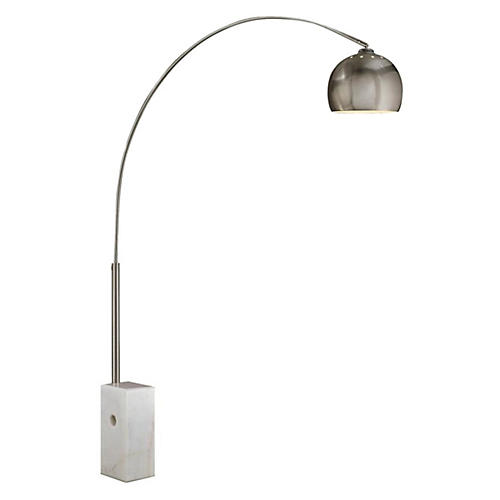 Sara Floor Lamp, White
