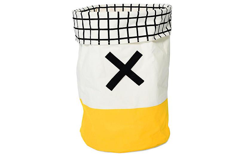 Olé Kids' Toy Hamper, Yellow