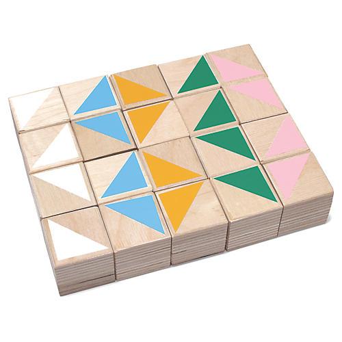 Badaboum Kids' Toy Blocks, Multi
