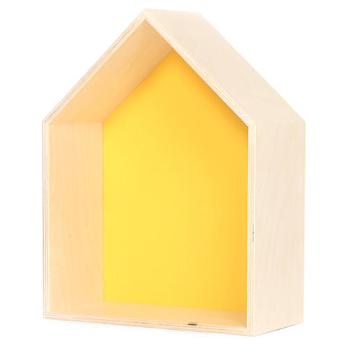 House Kids' Shelf, Yellow