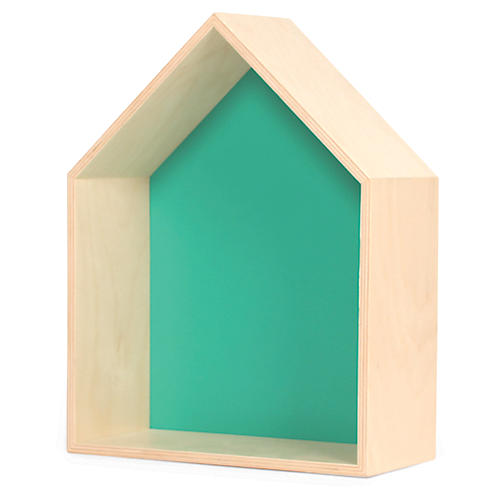 House Kids' Shelf, Green