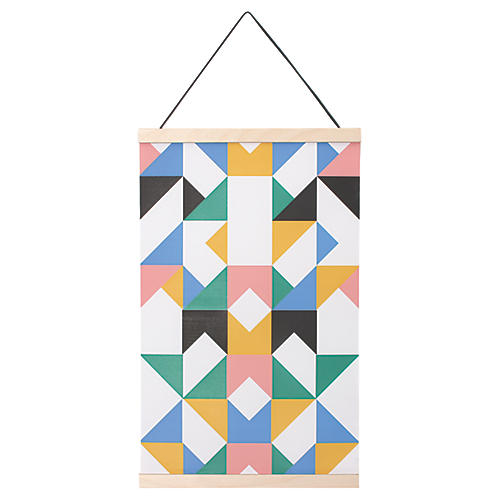 Rainbow Kids' Hanging Textile, Multi