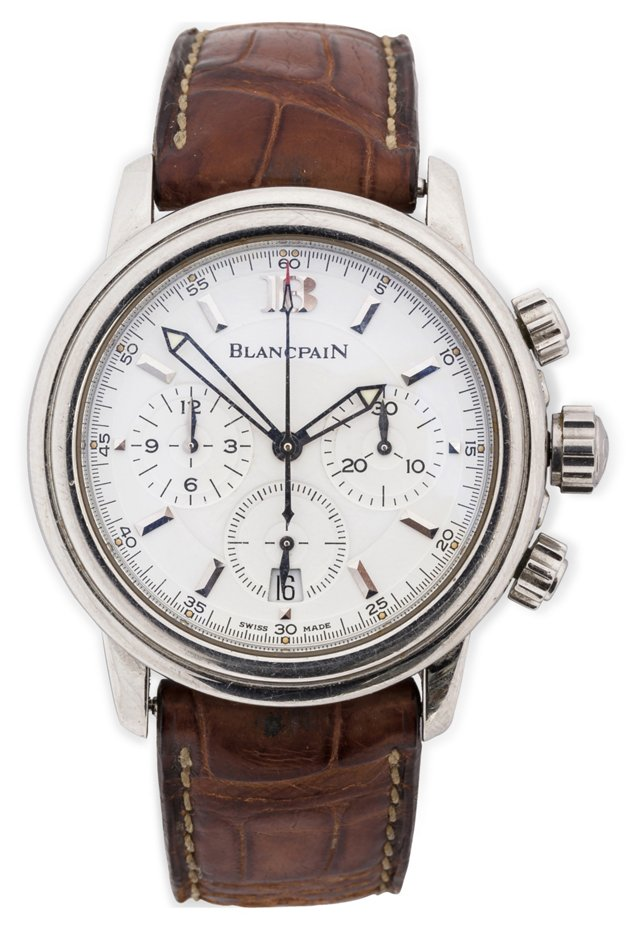 Blancpain Chronograph, Stainless Steel