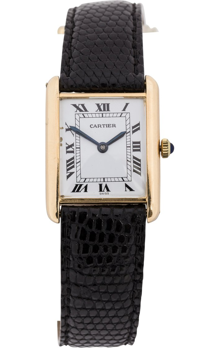 1970s Cartier Tank w/ Deployant Buckle