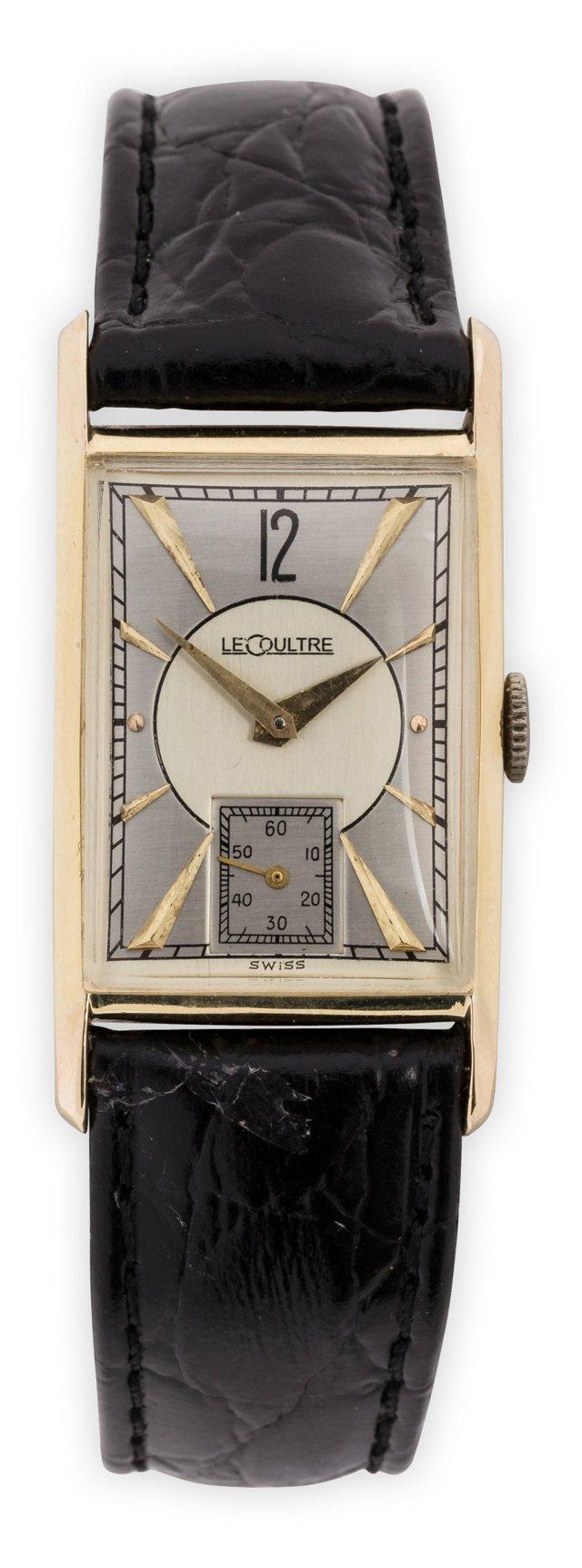 1940s LeCoultre Rectangular Watch