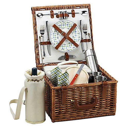 Cheshire Basket for 2 w/ Coffee Service