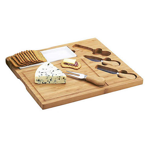 Celtic Cheese Board Set, Bamboo